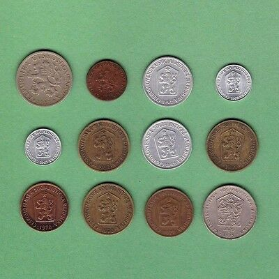 Czechoslovakia (1922-1975) - Coin Collection - Lot #A - World/Foreign/Europe