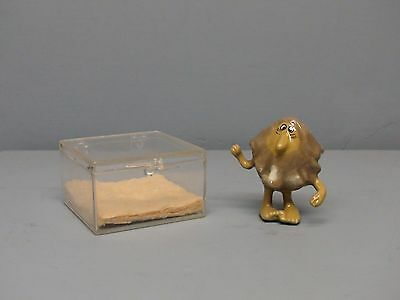 Hagen Renaker Little Horribles Little Old Man with Box & Sticker