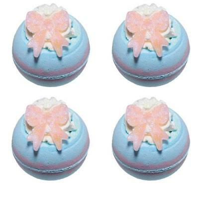 Bomb Cosmetics Baby Shower Bath Blaster 4 Pack FREE P&P