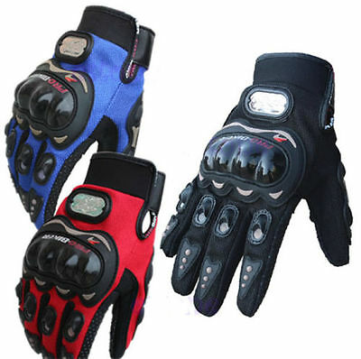 M/L/XL/XXL  Pro-biker Full Finger Motorcycle Riding Racing Cycling Sport Gloves