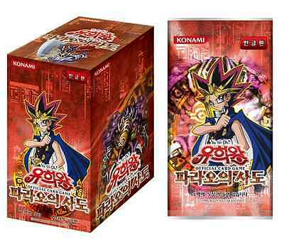"YUGIOH CARDS ""Pharaoh's Servant"" BOOSTER BOX / Korean Ver"