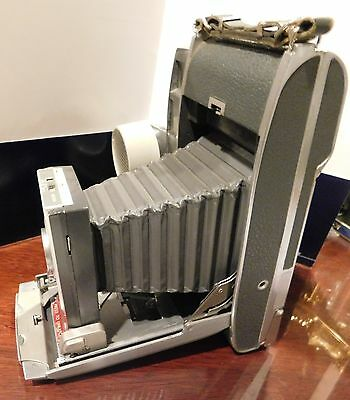 Vintage Polaroid Electric Eye Land Camera Model 900 with Case & Accessories  *