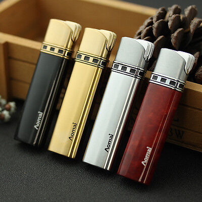 Fashion Cigar Butane Gas Refillable Jet Flame Cigarette Lighter