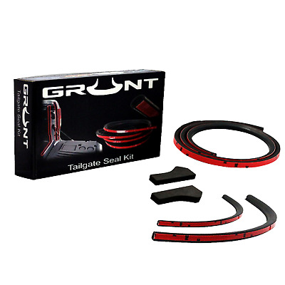 Tailgate Seal Kit For Holden Rg Colorado Rubber Ute Dust Tail Gate 2012 -2017