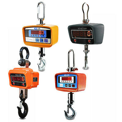 Electronic Digital Hanging Industrial Heavy Duty Crane Scale 1T 3T 5T 10T 500KG
