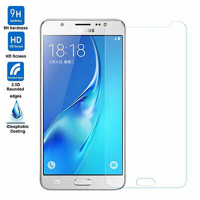 2X For SAMSUNG GALAXY J5 2016 TEMPERED GLASS GORILLA GLASS SCREEN PROTECTOR TY