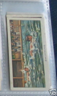 #10 swimming - Sport cigarette card