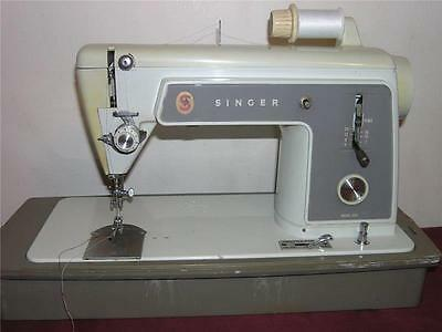 HEAVY DUTY SINGER 604 SEWING MACHINE, Straight Stitch