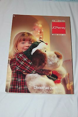2001 JC Penney Christmas Catalog - Gifts / Toys / Clothing