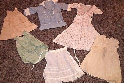1800's Victorian Vintage Children's Clothing Lot antique outfits dress girls