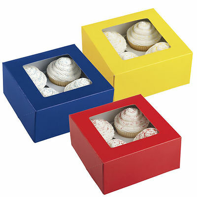 Primary Colors 4 Cavity Box 3 ct from Wilton #0941 - NEW