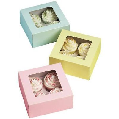 Pastel Colors 4 Cavity Box 3 ct from Wilton #1361 - NEW