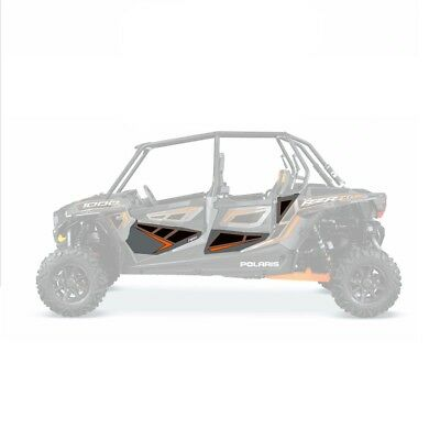 DragonFire Door Graphics Polaris RZR XP 4 1000 2014-15 Titanium Matte Metallic