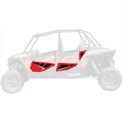 DragonFire Door Graphics Polaris RZR XP 4 1000 2014-2016 Havasu Red Pearl