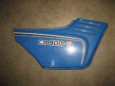 Honda CB 900 F SIDE FAIRING, Seat Cover Page Right Blue 83600-438 R