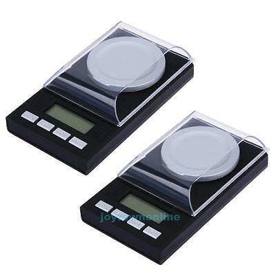 20/50gx0.001g Precision Digital Scale Gram Carat Grain Reload Jewelry Milligram