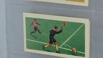 #12 rugby football - Sport card