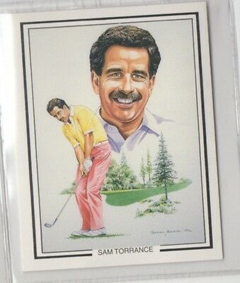 #12 Sam Torrance - The Ryder Cup 1987 Winners Collector Card