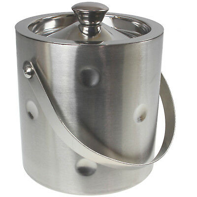 Double Wall Stainless Steel Ice Bucket Container Wine Champagne Bottle Cooler