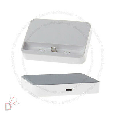 New Data Sync Dock Stand Charger Station Cradle Charging for Apple iPhone 5 UKDC