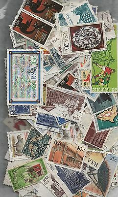 South Africa Kiloware off paper 50gms fine used excellent selection 200+ stamps