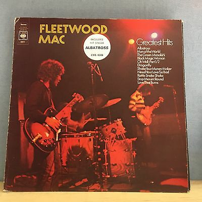 FLEETWOOD MAC Greatest Hits 1971  UK VINYL LP RECORD EXCELLENT CONDITION  B
