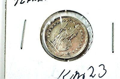 1914 Switzerland Silver ½ Franc Coin No Reserve