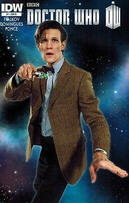 Doctor Who #7  RARE  1 in 10 RI Photo Variant  VF  NEW Ongoing