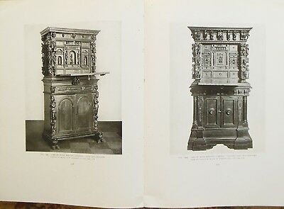1918 Odom HISTORY OF ITALIAN FURNITURE Limited #117 of 500 w/ 352 ILLUSTRATIONS