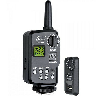 Interfit Strobies STR249 Transmitter & Receiver for Pro-Flash TLi-C & TLi-N