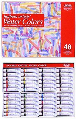Holbein Wc W409 Set Of 48 5Ml Tubes<Japan import>