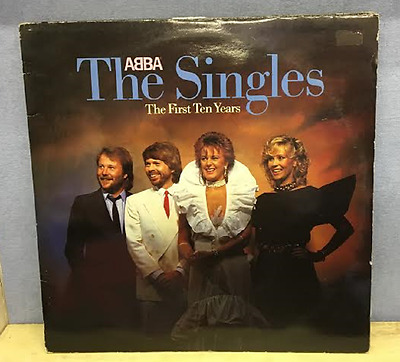 ABBA The Singles The First Ten Years 1982 UK Double Vinyl LP EXCELLENT CONDITION