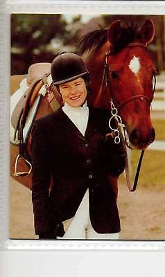 #133 Maria Backstrom SWE equestrian collector card