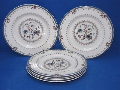 Royal Doulton Old Colony, Set Of 6 Bread Plates, Made In England, Fine China