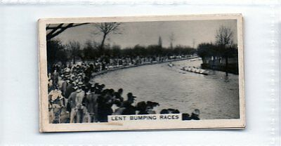 #14 Lent bumping races rowing -  1932 Cig card