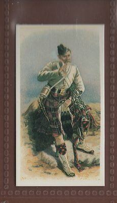 #14 Piper, Scots Guards - Victorian And Edwardian Soldiers Trade Card