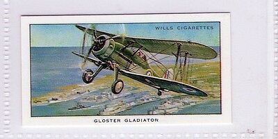 #15 Gloster Gladiator - Military Aircraft R Card