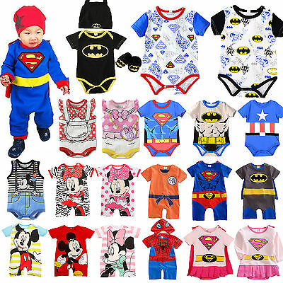 Kids Toddler Baby Boys Girls Romper Jumpsuit Bodysuit Playsuit Clothes Outfits
