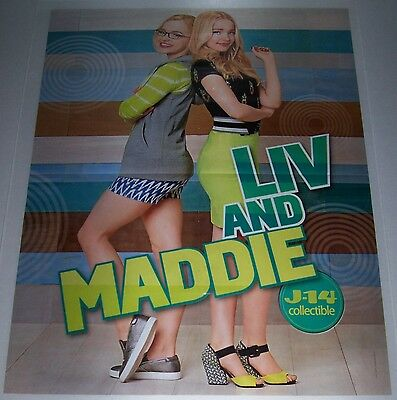 "LIV AND MADDIE - DOVE CAMERON - CAMERON DALLAS - 22"" x 16"" MAGAZINE POSTER"