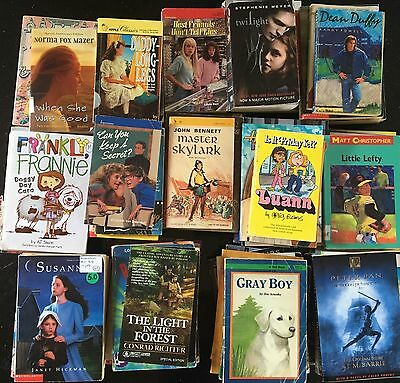 85 Children's Youth And Young Adult Books