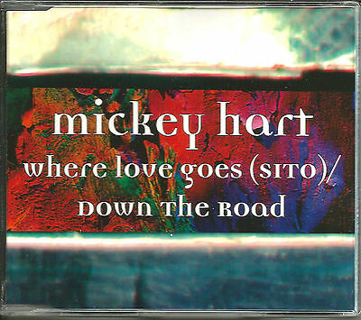 Grateful Dead MICKEY HART Where love goes/ Down the road EDITS CD single SEALED