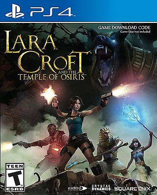 Lara Croft and the Temple of Osiris + Season Pass [PlayStation 4 PS4, Co-op] NEW
