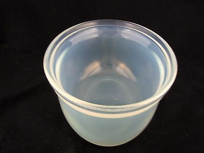 """Fry Glass Casserole #1932-9 without lid, 7"""" x 9 1/2"""" oval"""