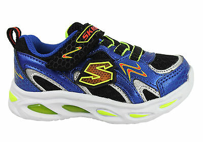 New Skechers S Lights Ipox Rayz Infant Boys Shoes