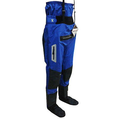 Drypants Shakoo Waterproof Kayaking Drypant with Front Zipper and Socks In Stock