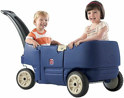 New Step2 Wagon for Two Plus Blue