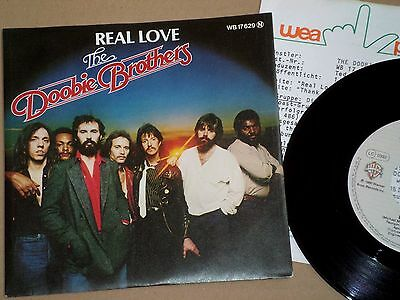 """7"""" The Doobie Brothers - Real Love + Product Facts!!"""