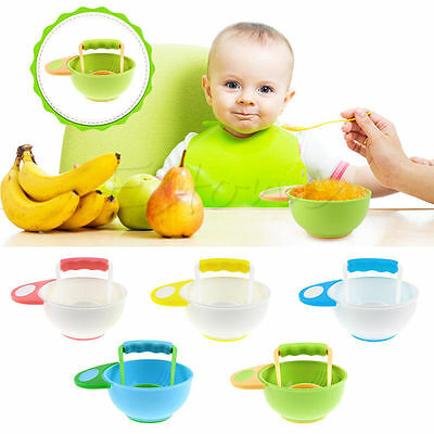 Baby Food  Grinding Bowl Dishes Children Handmade Grinding Supplement Mill