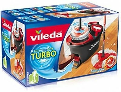 Vileda Microfibre Easy Wring Turbo Clean Mop - Choose Complete Set Or Refill