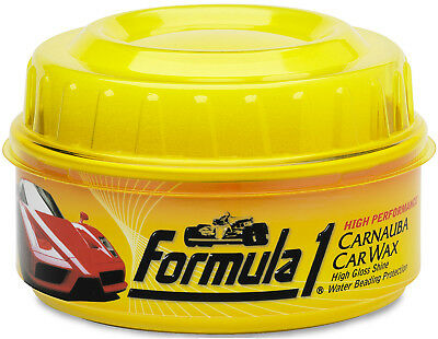 Formula 1 CARNAUBA WAX Car Polish Shine Last Long Water Beading Remove Scratches